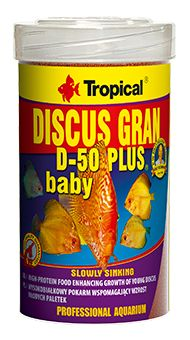 RAÇÃO  DISCUS GRAN D-50 PLUS BABY 52gr TROPICAL  - KZ Power