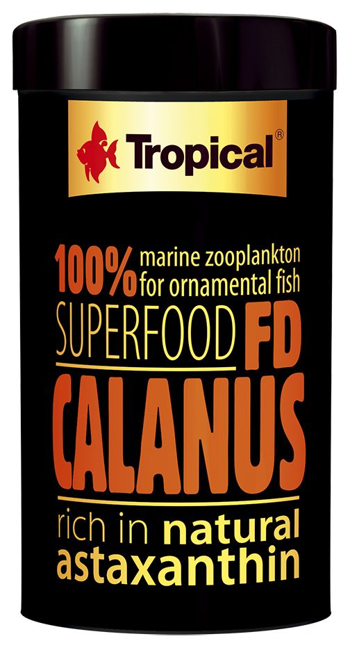 RAÇÃO FD CALANUS 12gr TROPICAL  - KZ Power