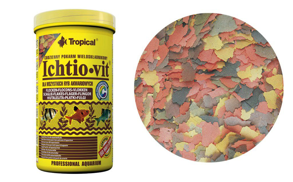 RAÇÃO ICHTIO-VIT FLOCOS 50gr TROPICAL  - KZ Power