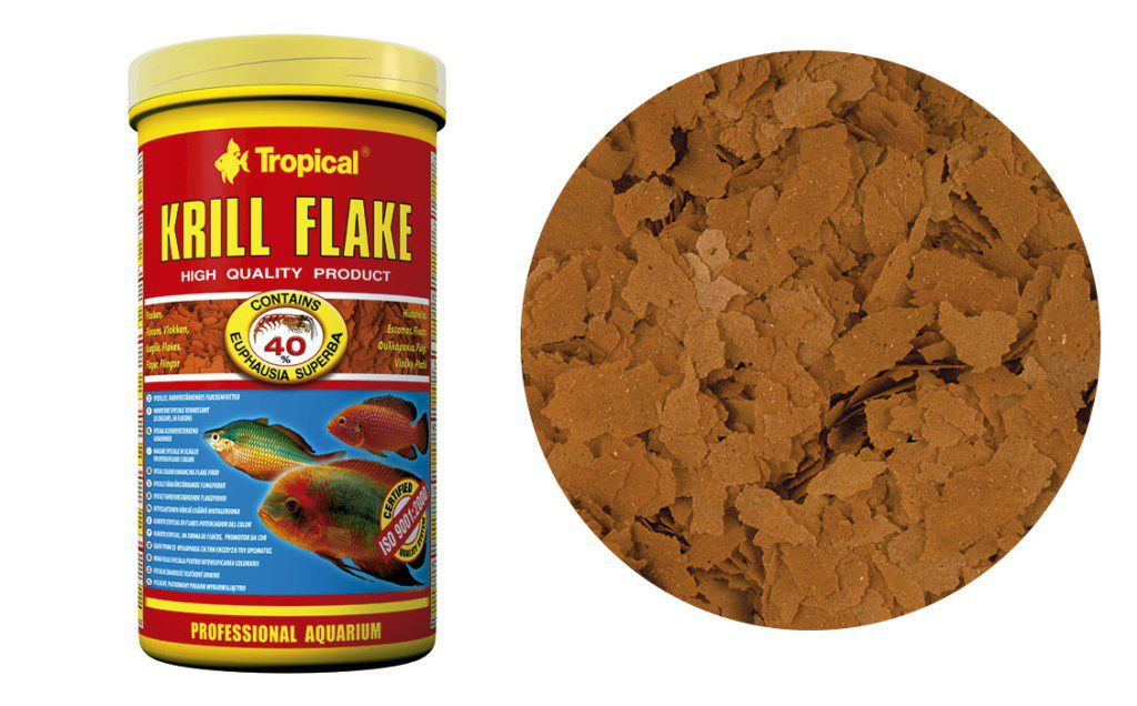 RAÇÃO KRILL FLAKE 100gr TROPICAL  - KZ Power