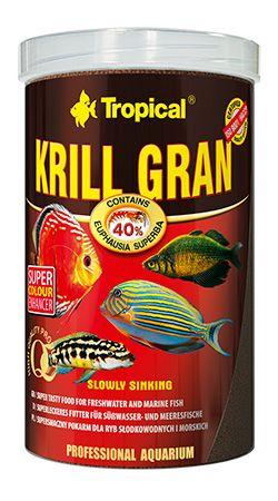 RAÇÃO KRILL GRAN 135gr TROPICAL  - KZ Power