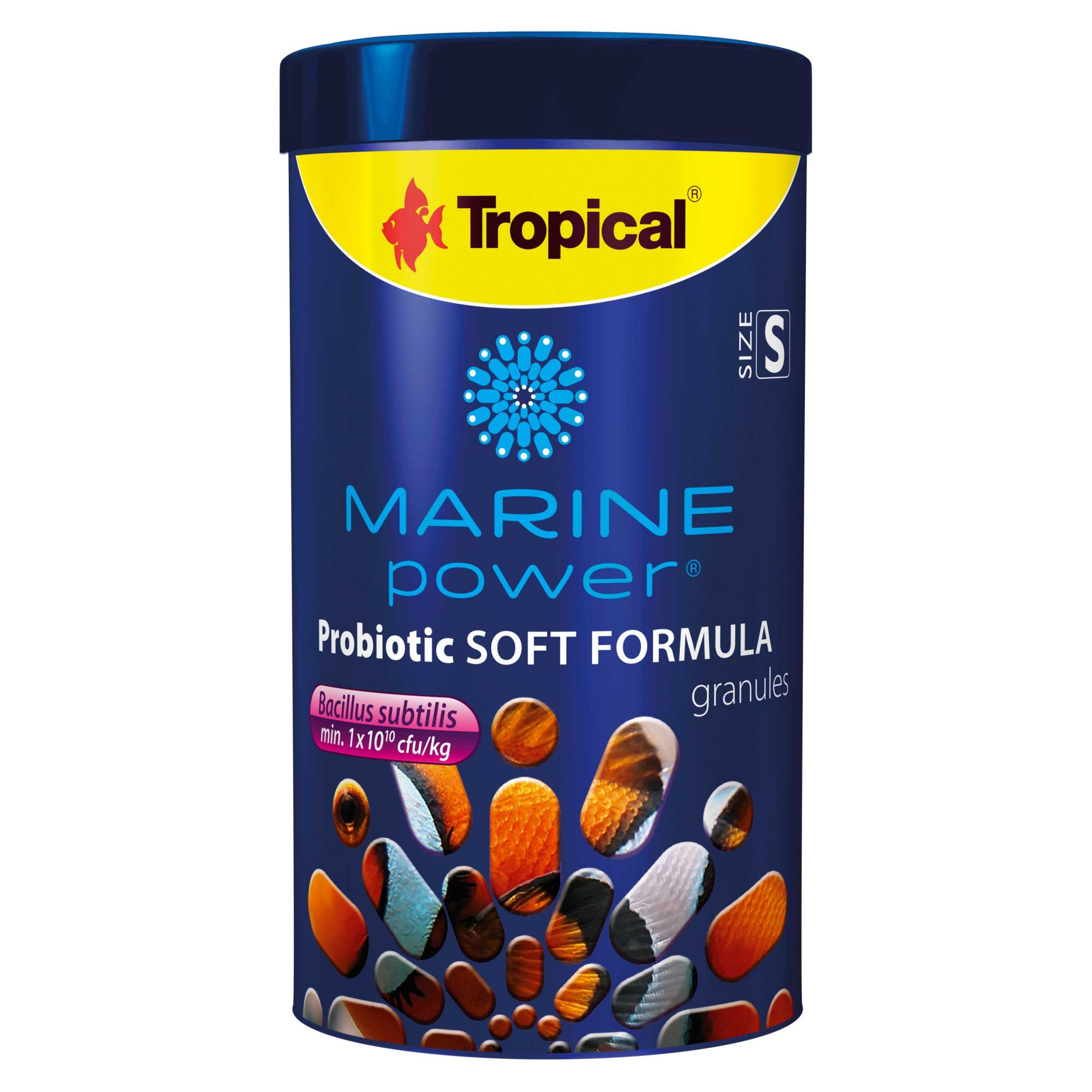 Ração Marine Power Probiotic Soft Formula Size S 60gr  - KZ Power