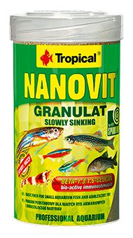 RAÇÃO NANOVIT GRANULAT 70gr TROPICAL  - KZ Power