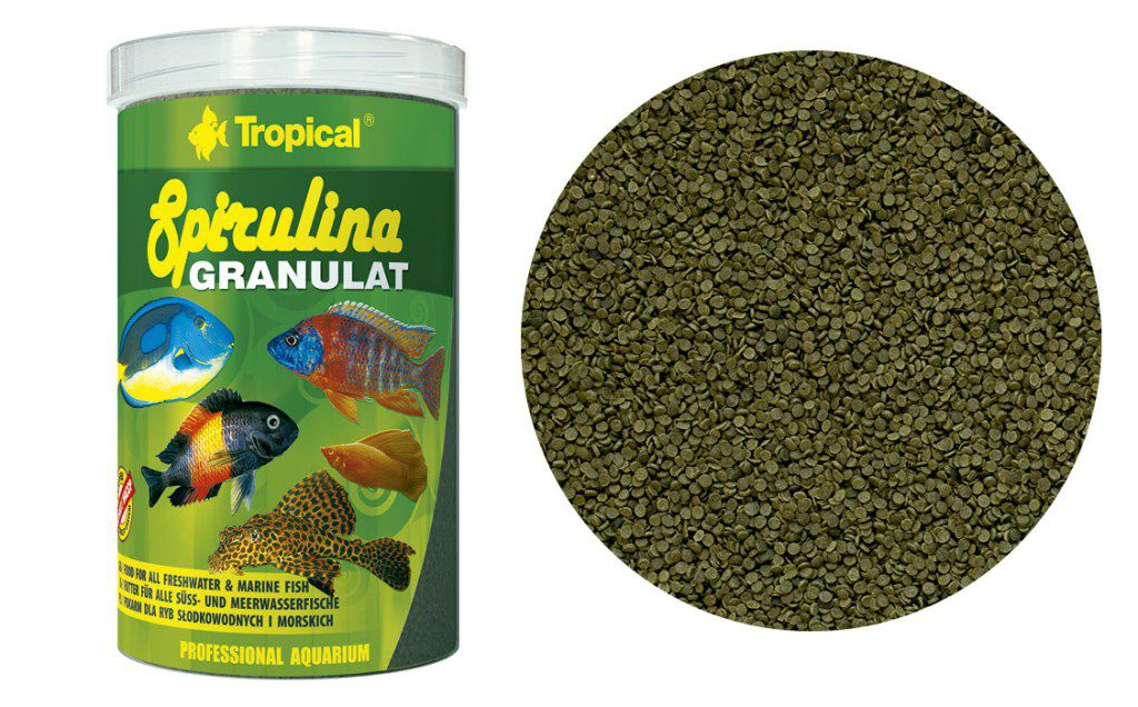 RAÇÃO SPIRULINA GRANULAT 44gr TROPICAL  - KZ Power