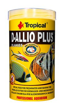 Ração Tropical D-allio Plus Flakes Tropical 100gr  - KZ Power