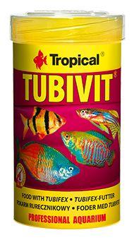 Ração Tropical Tubivit 20g Rico em Proteínas  - KZ Power