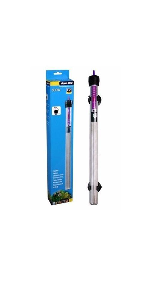 Termostato com aquecedor Aquaone 300w 110v.127v.  - KZ Power
