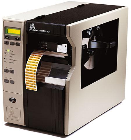 Impressora de Etiquetas Térmica - 110xiIII PLUS - Peel OFF - ZEBRA