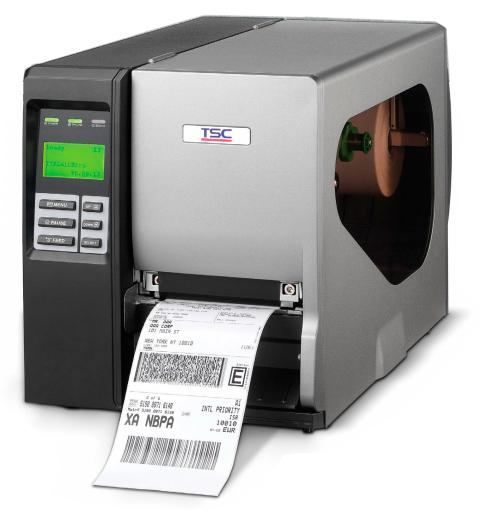Impressora de Etiquetas Térmica - TTP 2410M PRO - Com faca rotativa - TSC