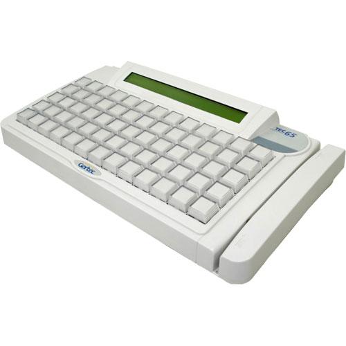 Teclado Programável TEC 65 com Display e Leitor Trilha 2 - Gertec