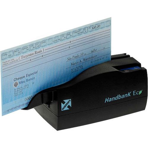 Leitor de Boletos e Cheques Handbank Eco 10 - Nonus