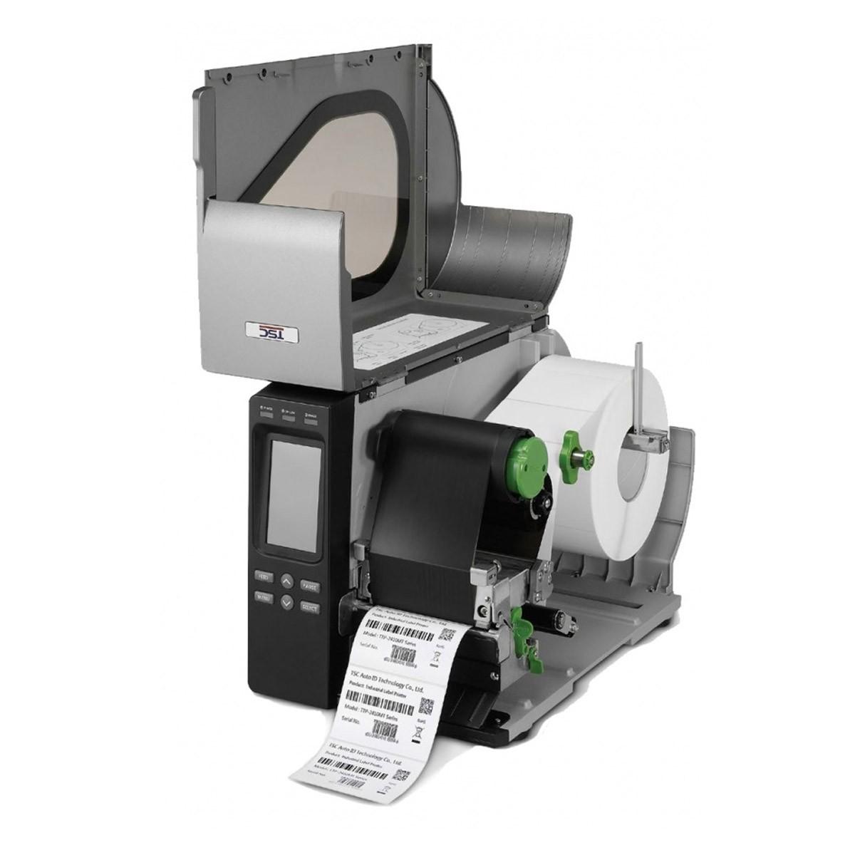 Impressora de Etiquetas Térmica Industrial - TTP-2410MT TSC - Com faca e Rebobinador