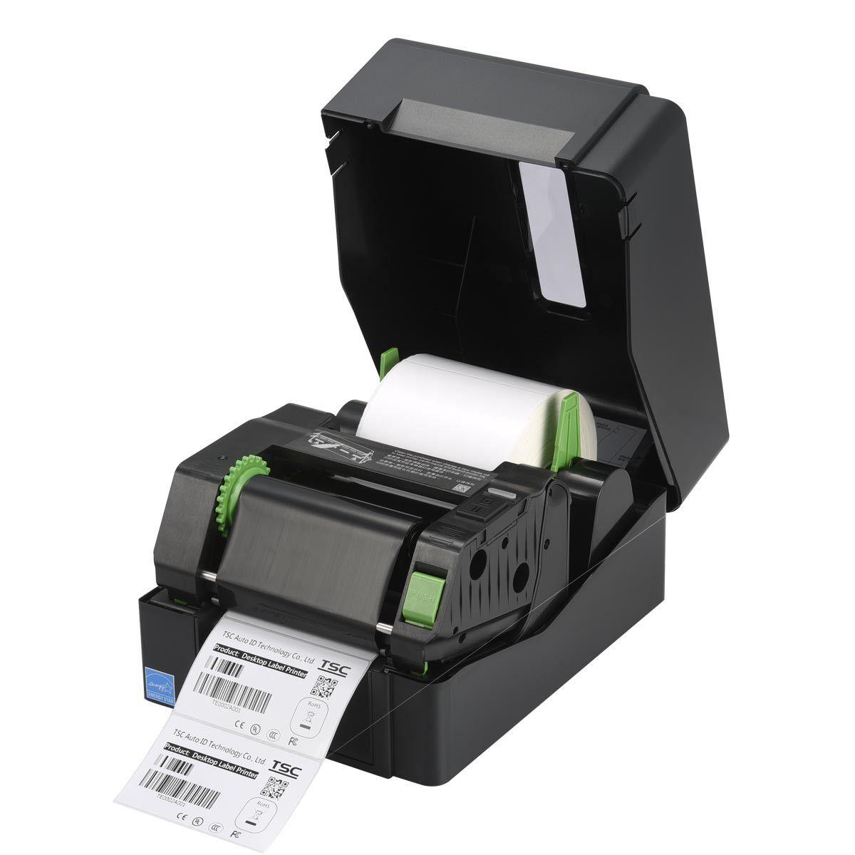Impressora de Etiquetas Térmica - TE200  - TSC - Ribbon 300 metros