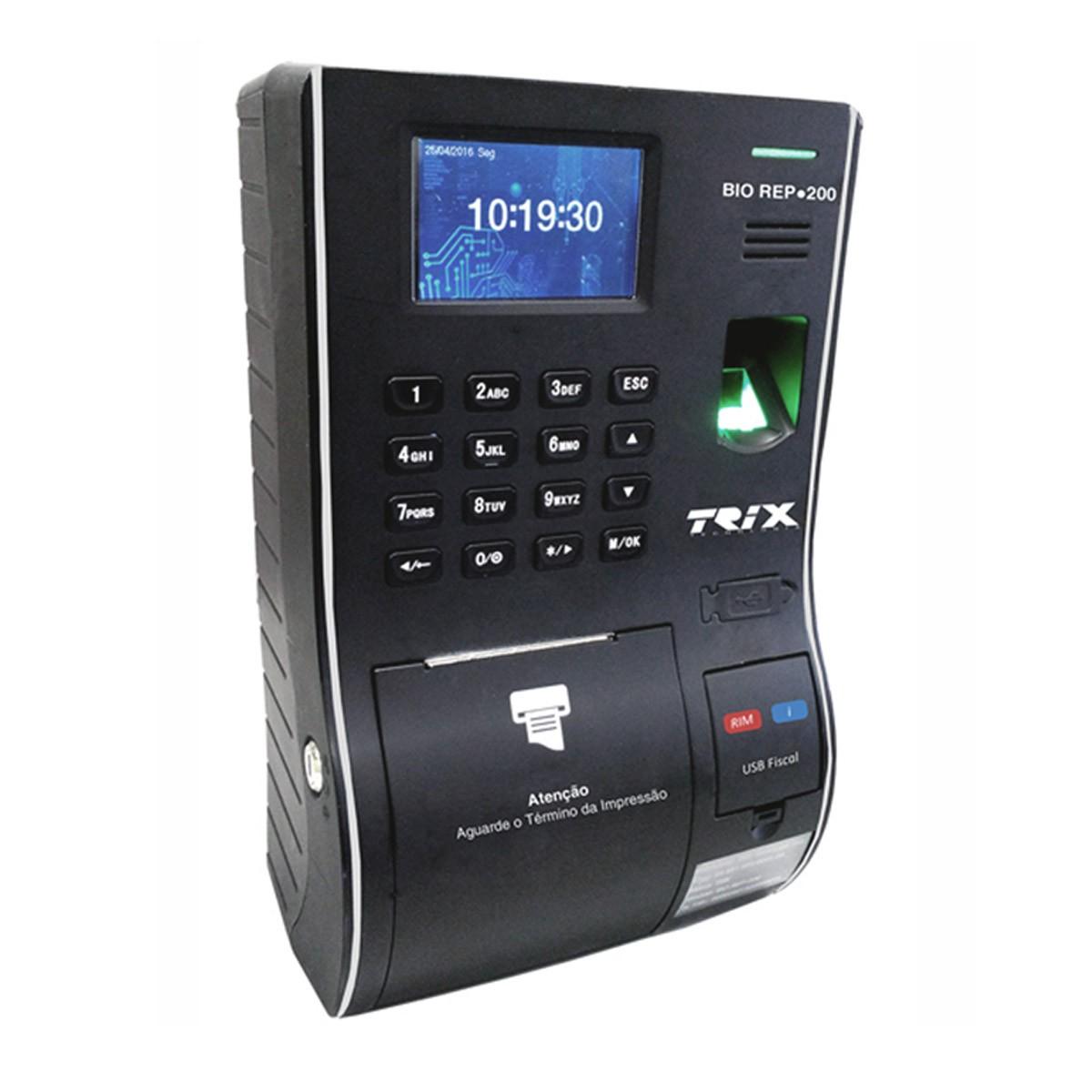 Relógio de Ponto Eletrônico BIO REP-200 - Trix Tecnologia