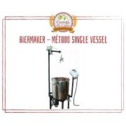 BierMaker - Equipamento em Inox Automatizado Método Single Vessel com Estrutura