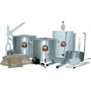 Kit Cervejeiro Completo p/ Produção de Cerveja Artesanal 10 a 60 litros