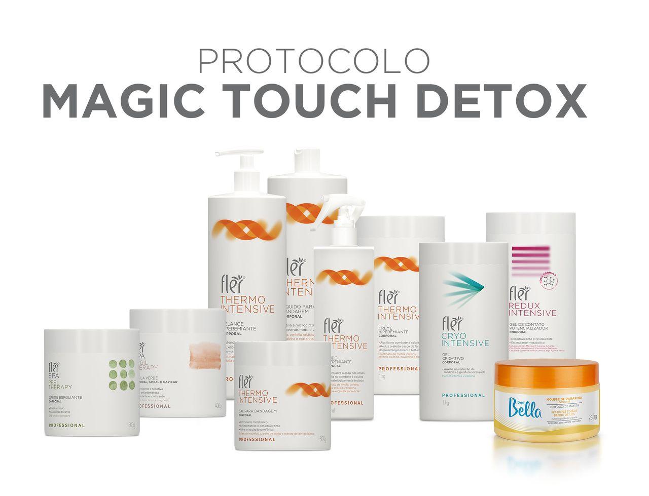 Kit Magic Touch Detox by Flávia Medeiros