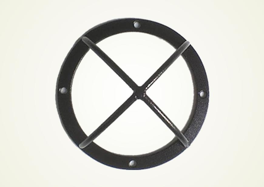 Protetor Aberto Para Mini Câmera Dome 4 Cinza - Bulher