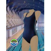 LPC 32 - Maiô para natação com costa olímpica/nadador
