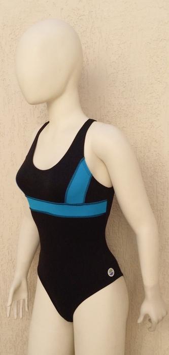 LPC 07 - Maiô para natação com alças cruzadas nas costas