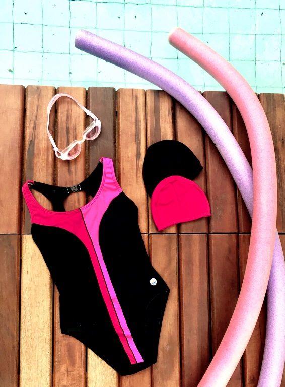LPC 08   -   Maiô em helanca para natação ou hidroginástica