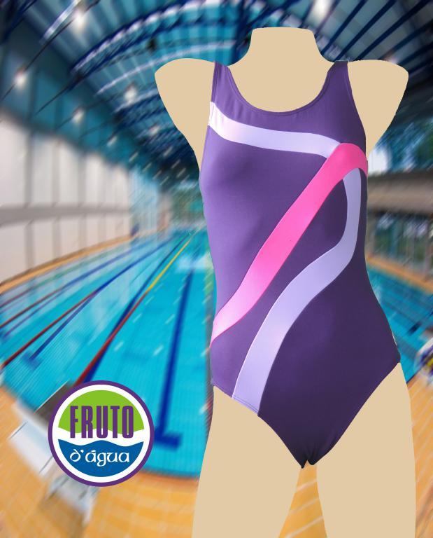 LPC 36 - Maiô para natação com fecho nas costas