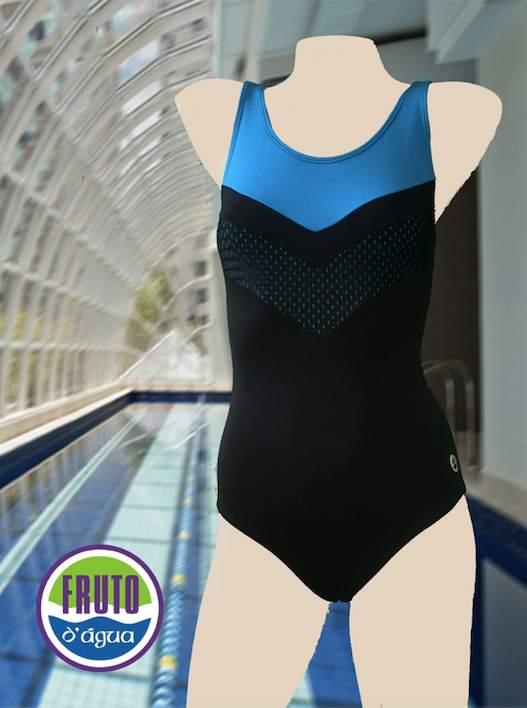 LPC 46 - Maiô em helanca para natação ou hidroginástica
