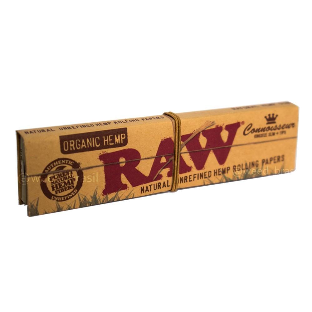 Seda / Papel para cigarro RAW CLASSIC, tamanho 110mm - LIVRO AVULSO 32 folhas