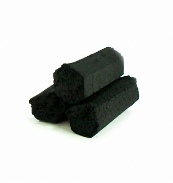 Carvão de coco para narguile e incenso ART COCO - caixa com 60 unidades HEXAGONAL.