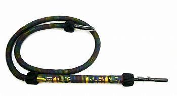 Mangueira EGÍPCIA TRADICIONAL PASHA para SH/KM/PASHA (1,30 metros), pontas em acrílico com amarras fio colorido.