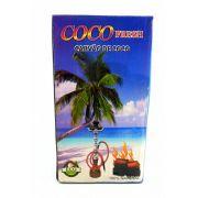 Carvão para narguile e incenso COCO FRESH - 1KG - caixa com 96 unidades.