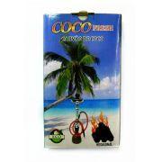 Carvão HEXAGONAL para narguile e incenso COCO FRESH - 500gr