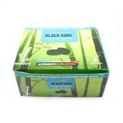 Carvão para Narguile (Arguile) de bambu Black King, 33mm (P) - CAIXA 100 unidades