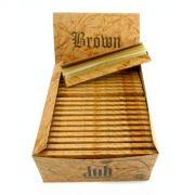 Seda Job Brown - Tamanho Grande, 110mm - unidade - 10 livros com 33 papéis