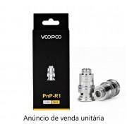 Bobina Coil Reposição Resistência VOOPOO PNP-R1 0.8ohm (Drag baby/ Find Trio/ VINCI, VINCI R, X/ARGUS Air) 12-18W - 1un.