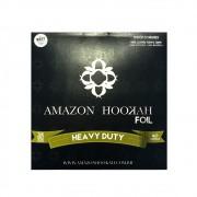 CAIXA de Folhas de Alumínio para narguile extra-grosso (40 micras) AMAZON HOOKAH, corte quadrado, 25 unid.
