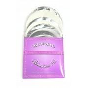 CAIXA de Folhas de Alumínio para narguile MUNDIAL, corte redondo, 50 unidades por caixa.