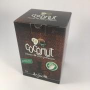Carvão de coco para narguile COCONUT PREMIUM 1KG - 72 carvões hexagonais