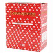 Carvão de coco para narguile e incenso COCO SUPREME - caixa 1 kg, 60 unidades HEXAGONAL.