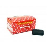 Carvão de coco para narguile e incenso COCO SUPREME - caixa 250gr, 30 unidades HEXAGONAL.