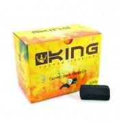 Carvão de coco para narguile e incenso KING 500gr - 30 unid. formato HEXAGONAL.