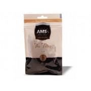 Filtro AMS para Cigarros. Tamanho Slim 6mm. Pacote com 120 unid. Fabricação Búlgara.