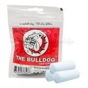 Filtro The Bulldog Amsterdam para Cigarros. Tamanho Slim 6mm, tamanho algodão. Pacote com 120 unid.