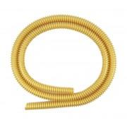 Mangueira p/ Narguile HELIX Rei do Narguile, em silicone antichamas com espiral externa. 1,65m.