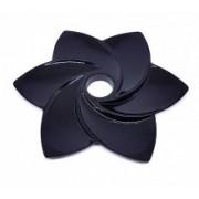 Prato para narguile Hookah Premium, Blade, 25 cm, com decoração radial.
