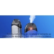 Refil Bobina Pod 2 ml e coil de 1,3 ohm CCell (cerâmica) para Vaporesso Renova Zero Pod Vape Kit C/ 2 unidades