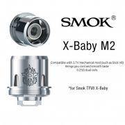 Resistência / Bobina (Coil Head) SMOK V8 x-BABY M2 0.25 ohm - compatível TFV8 X-Baby V8 - 1 un.