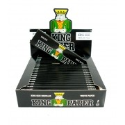 Seda King Paper White (BRANCO) KING SIZE. Tamanho Grande/Regular 110X44mm marca Aleda - LIVRO AVULSO 33 folhas