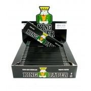 Seda King Paper White (BRANCO). Tamanho Regular/Pequeno 78X44mm marca Aleda - LIVRO AVULSO 50 folhas