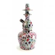 Setup com Stem + Vaso JUDITH edição especial CAVEIRA MEXICANA (LA CATRINA) em alumínio 22cm. Marca Ranny.